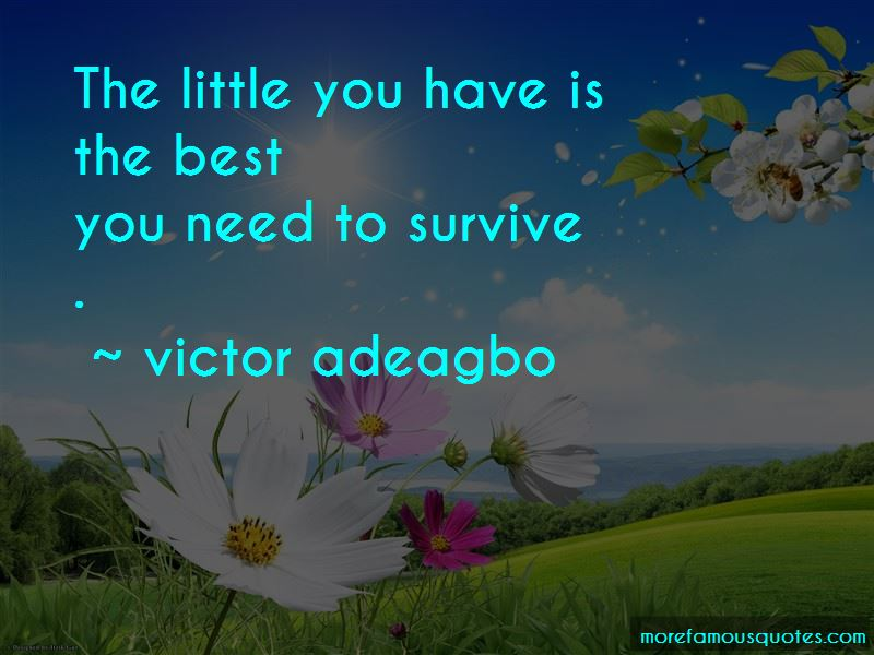 Victor Adeagbo Quotes Pictures 4