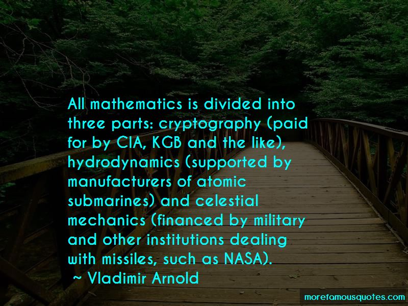 Vladimir Arnold Quotes Pictures 2