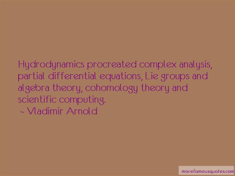 Vladimir Arnold Quotes Pictures 4