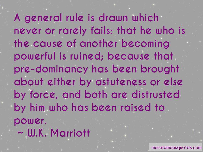 W.K. Marriott Quotes Pictures 3