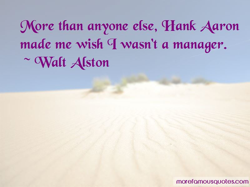 Walt Alston Quotes Pictures 3