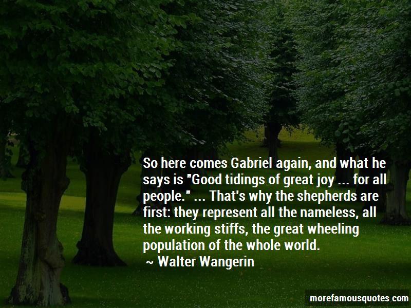Walter Wangerin Quotes