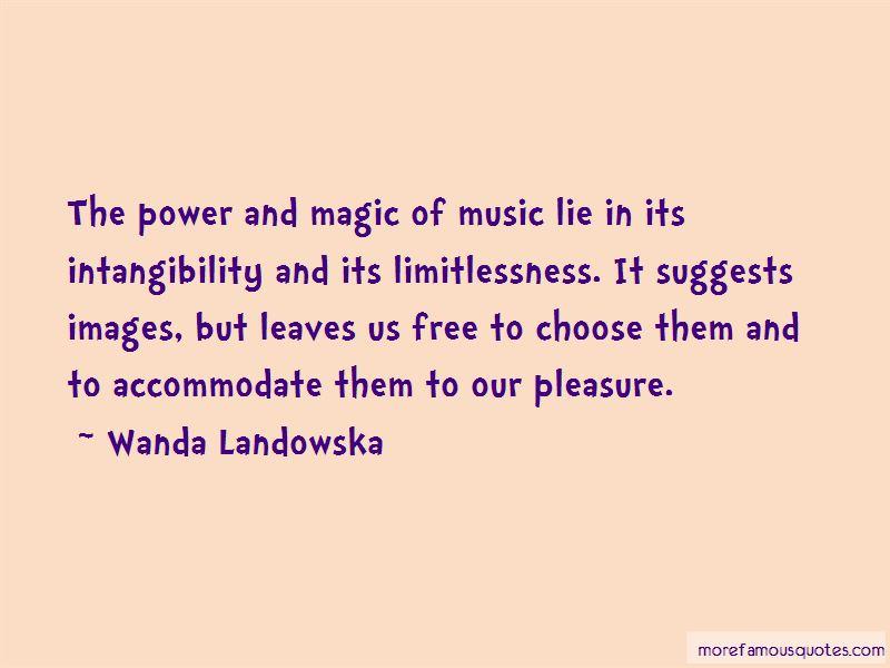 Wanda Landowska Quotes