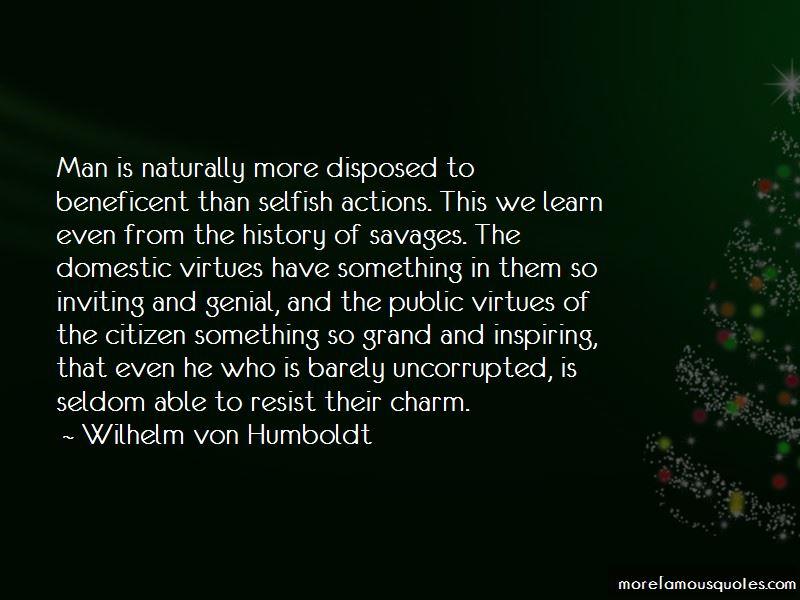 Wilhelm Von Humboldt Quotes