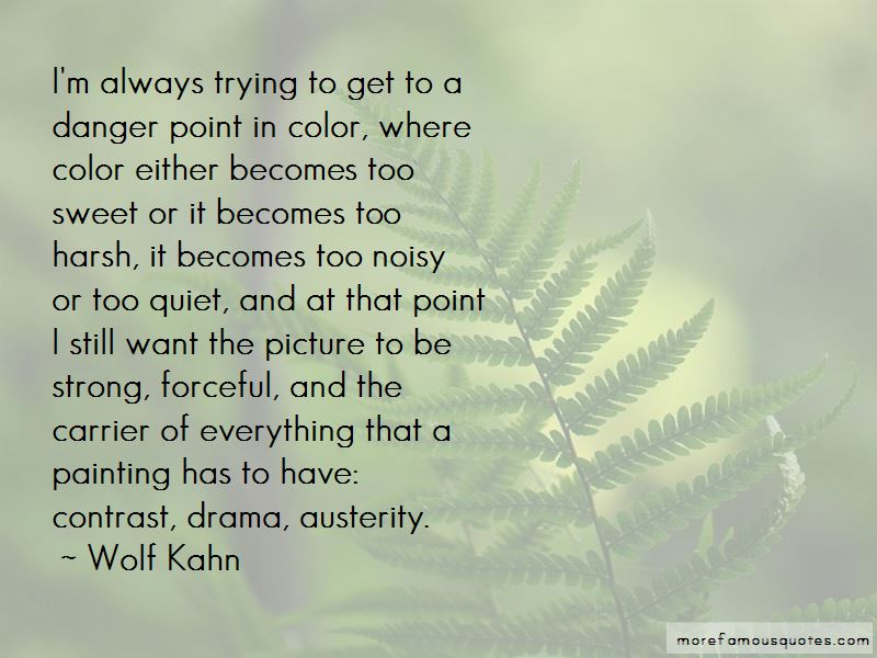 Wolf Kahn Quotes Pictures 2