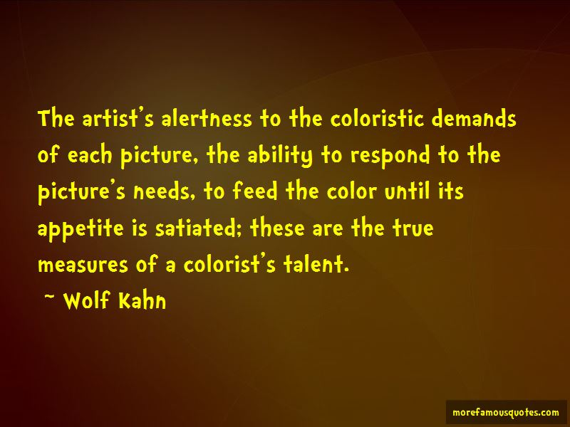 Wolf Kahn Quotes Pictures 3