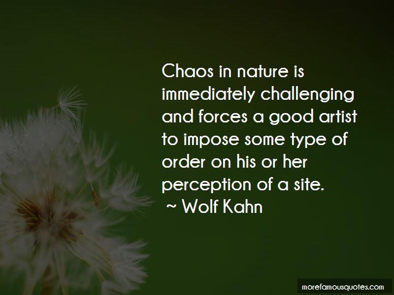 Wolf Kahn Quotes