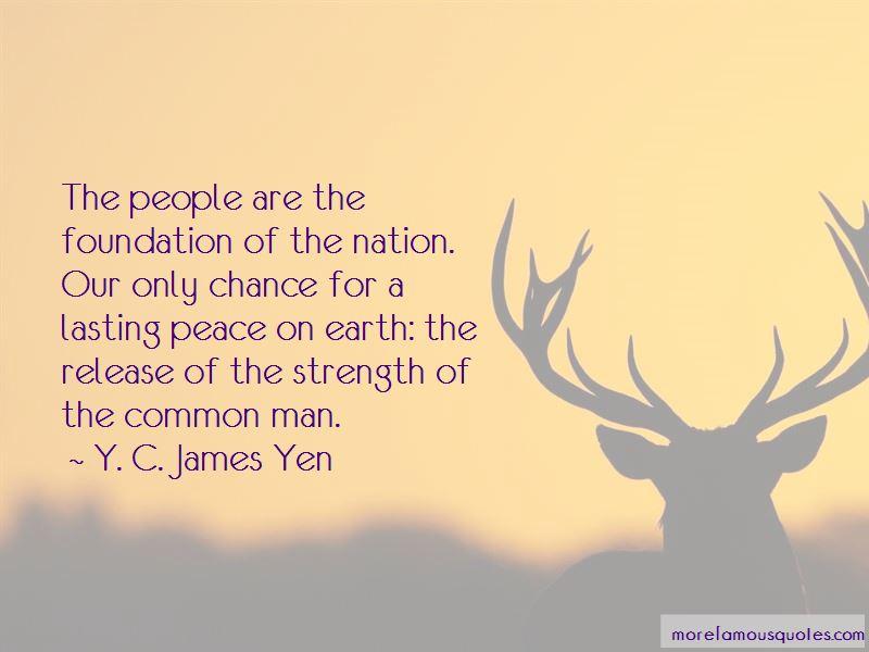 Y. C. James Yen Quotes