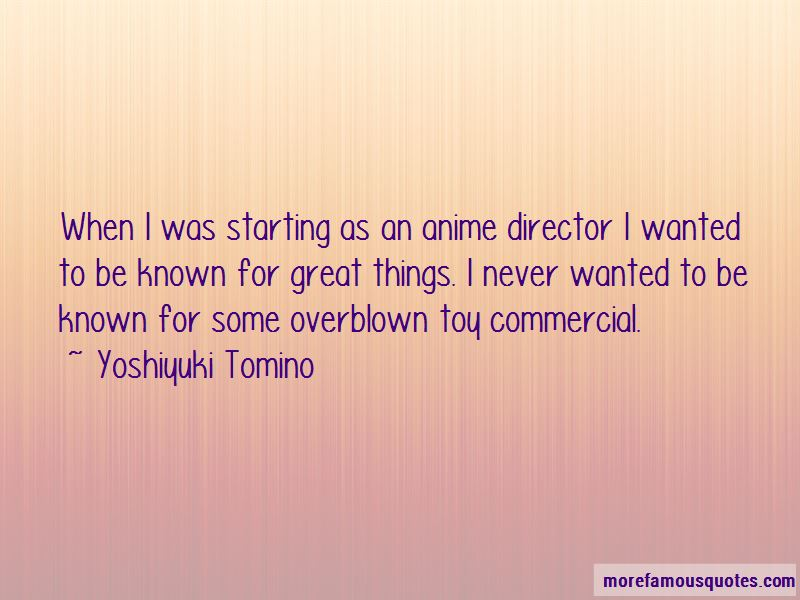 Yoshiyuki Tomino Quotes Pictures 2