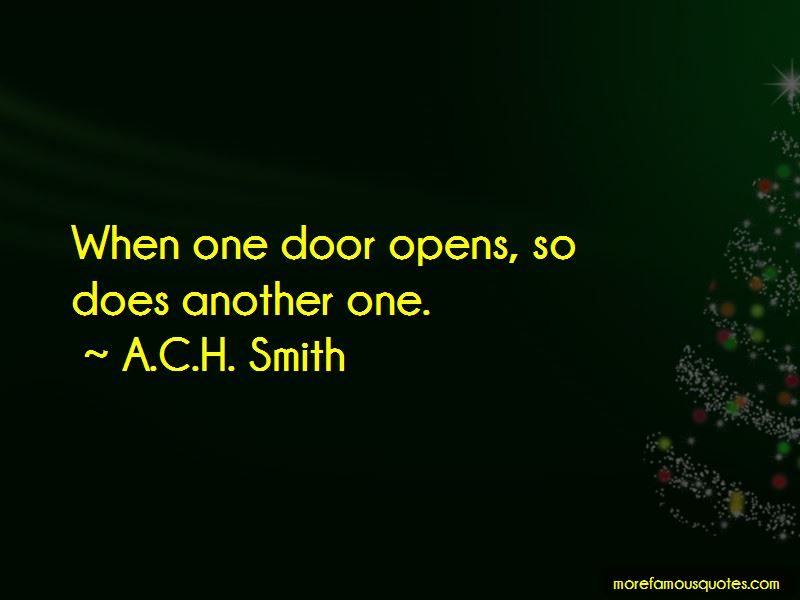 A.C.H. Smith Quotes Pictures 2
