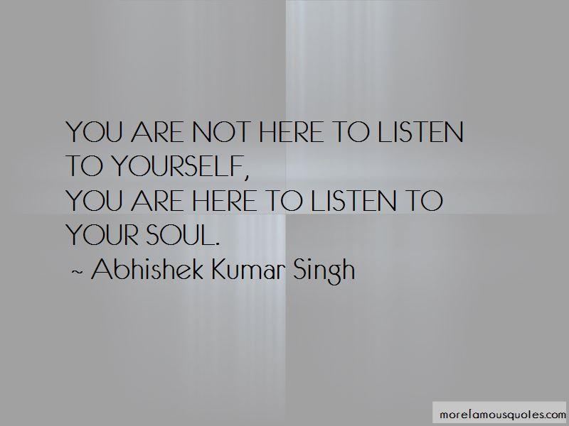 Abhishek Kumar Singh Quotes Pictures 2