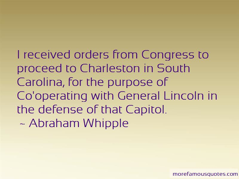 Abraham Whipple Quotes Pictures 2