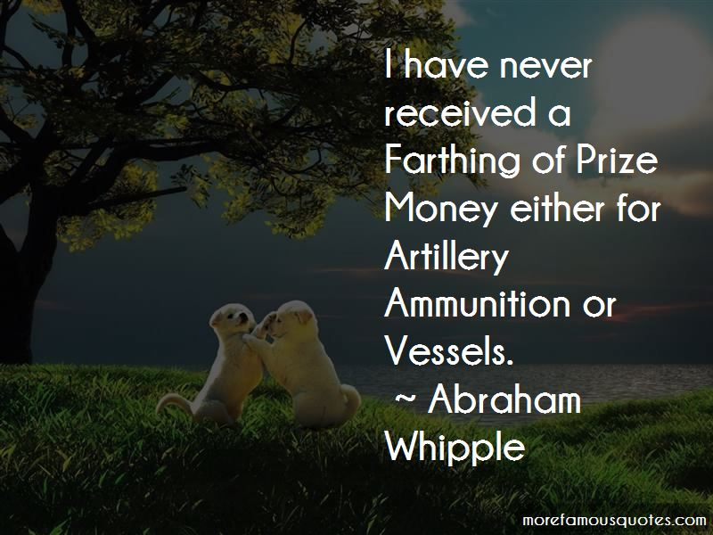 Abraham Whipple Quotes