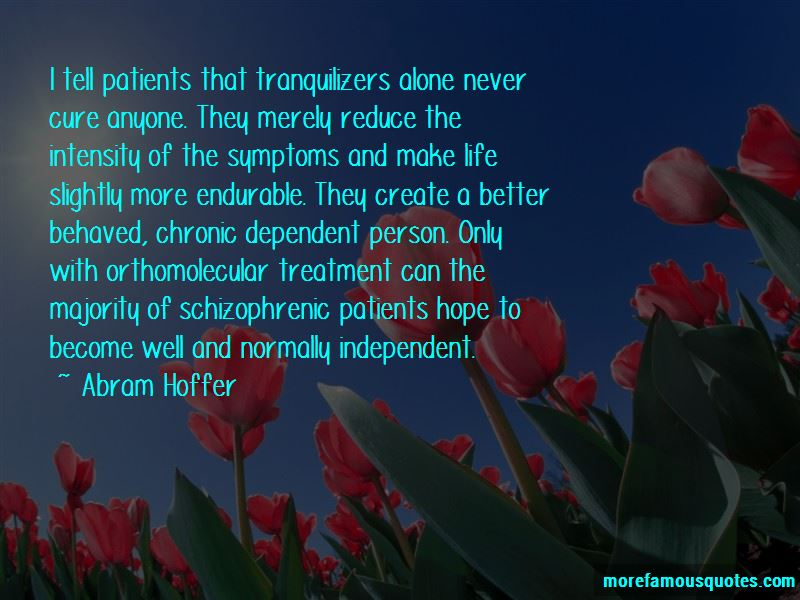 Abram Hoffer Quotes Pictures 2