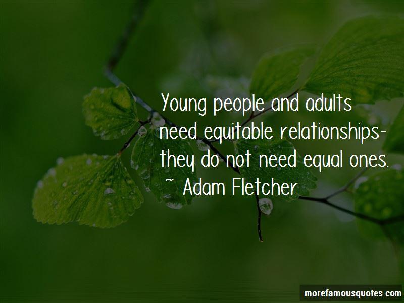 Adam Fletcher Quotes Pictures 2