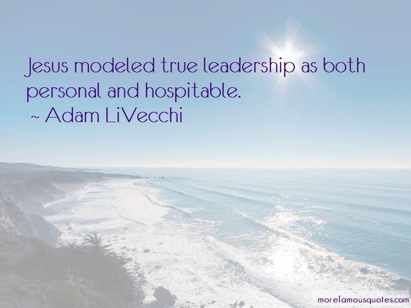 Adam LiVecchi Quotes