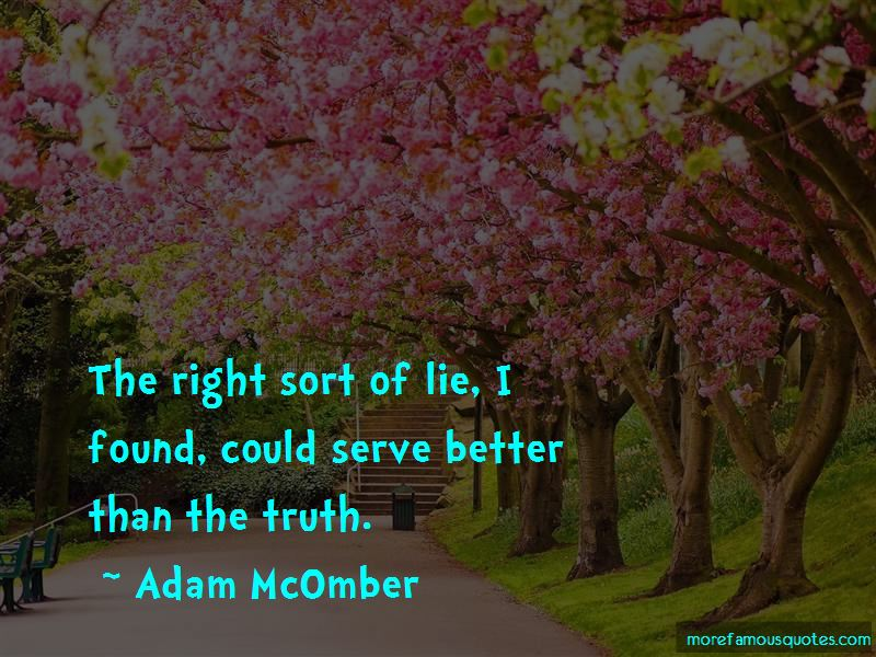 Adam McOmber Quotes Pictures 2
