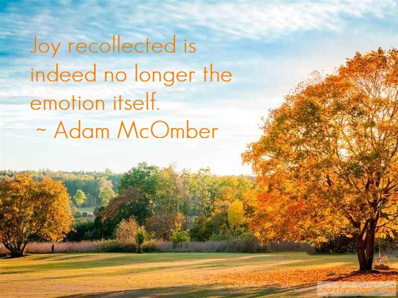 Adam McOmber Quotes Pictures 3