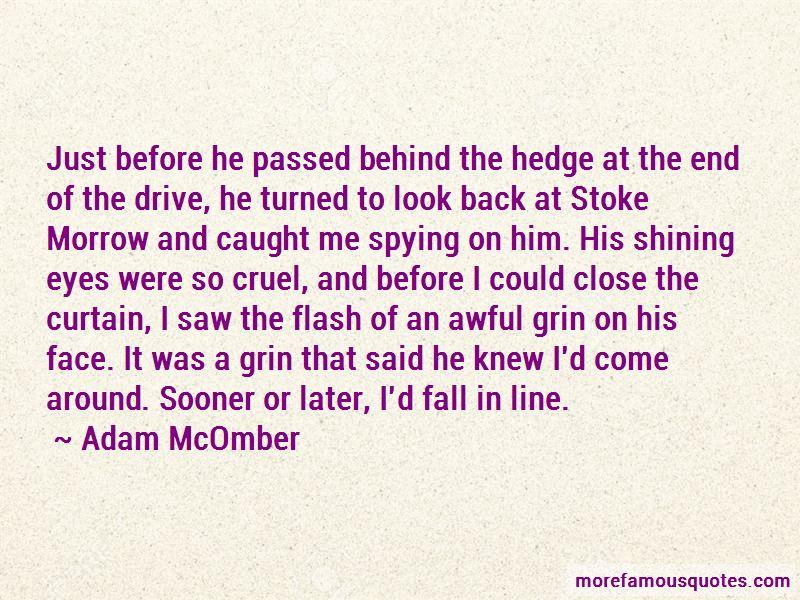 Adam McOmber Quotes