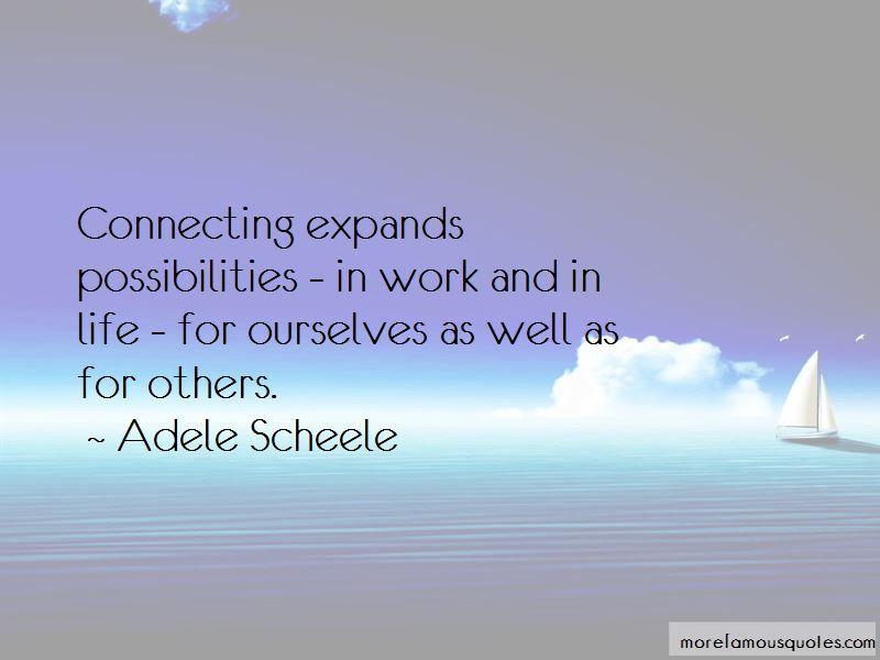Adele Scheele Quotes Pictures 3