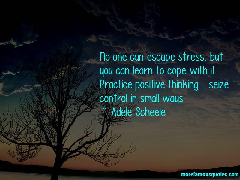 Adele Scheele Quotes