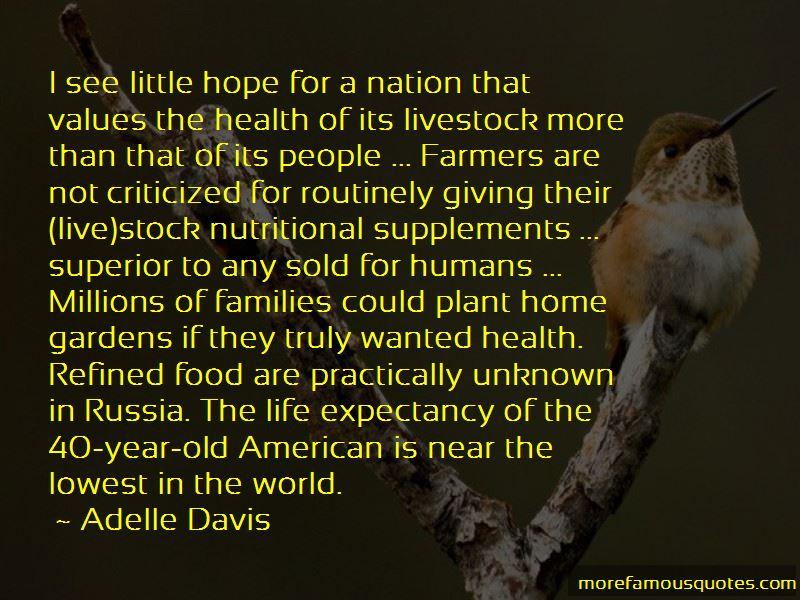 Adelle Davis Quotes