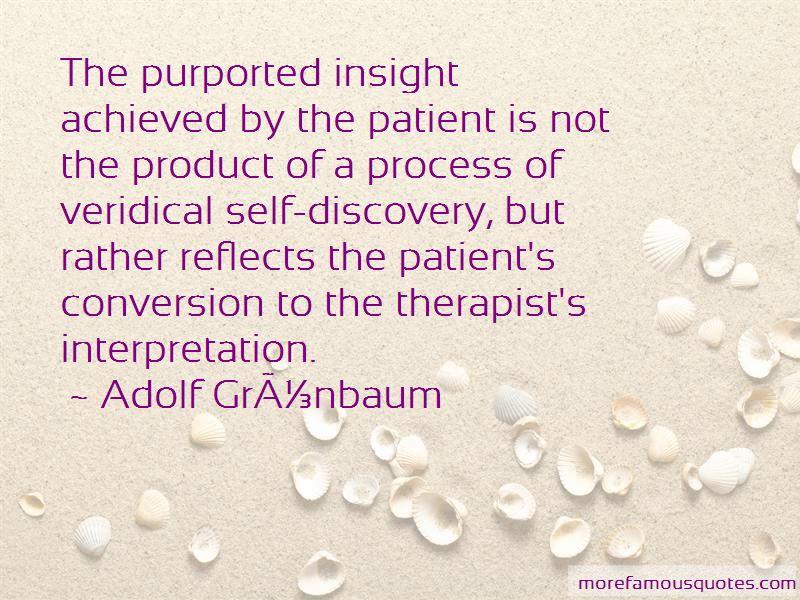 Adolf Grunbaum Quotes