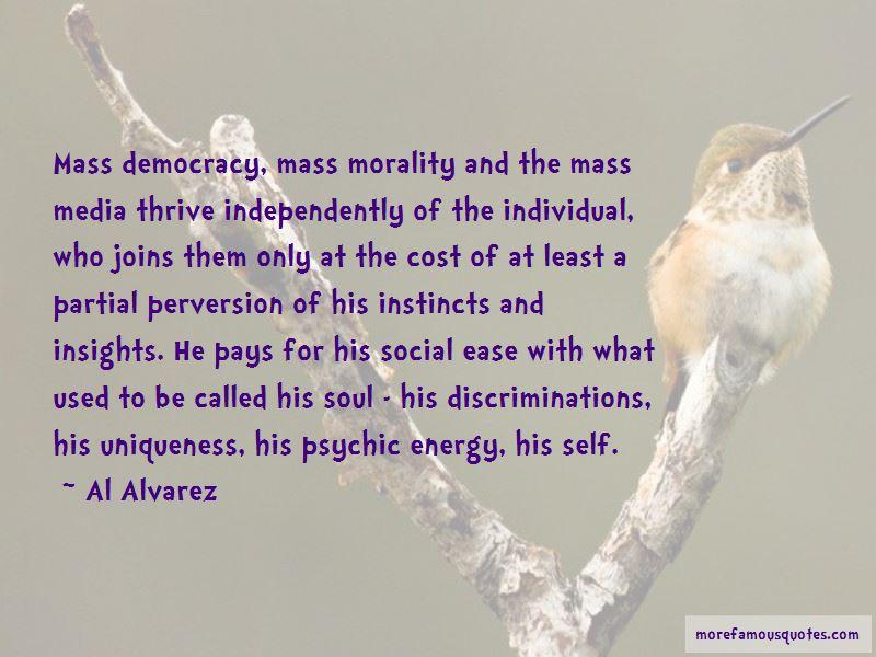 Al Alvarez Quotes Pictures 3