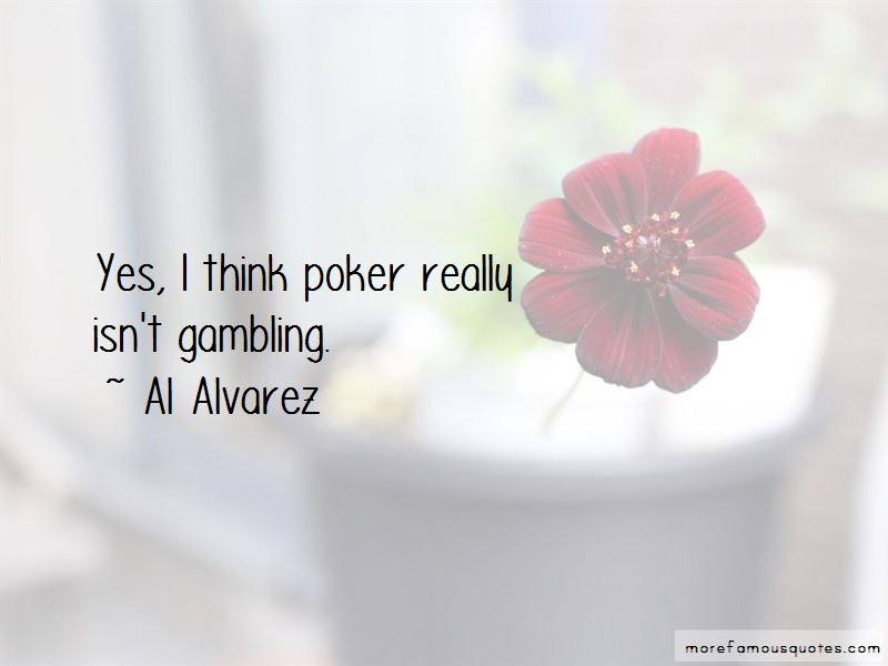 Al Alvarez Quotes
