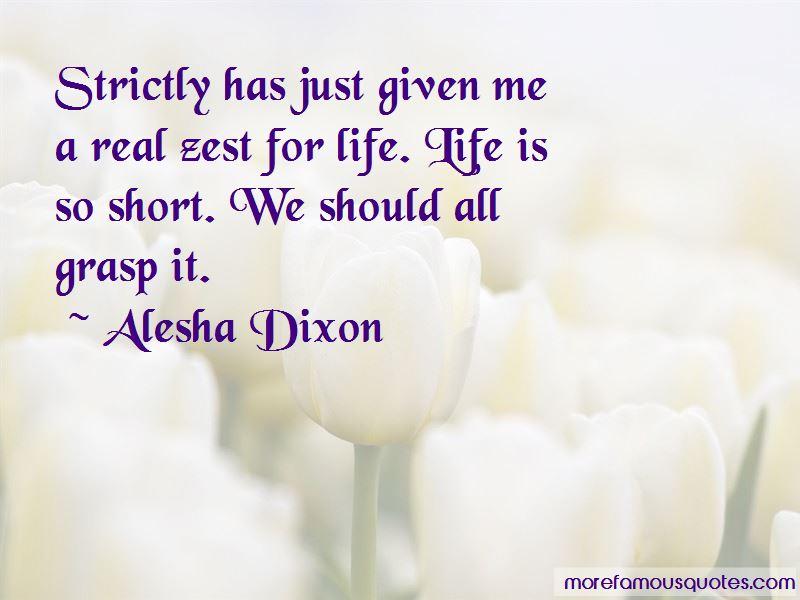 Alesha Dixon Quotes Pictures 3