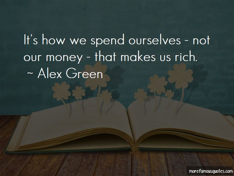 Alex Green Quotes Pictures 2