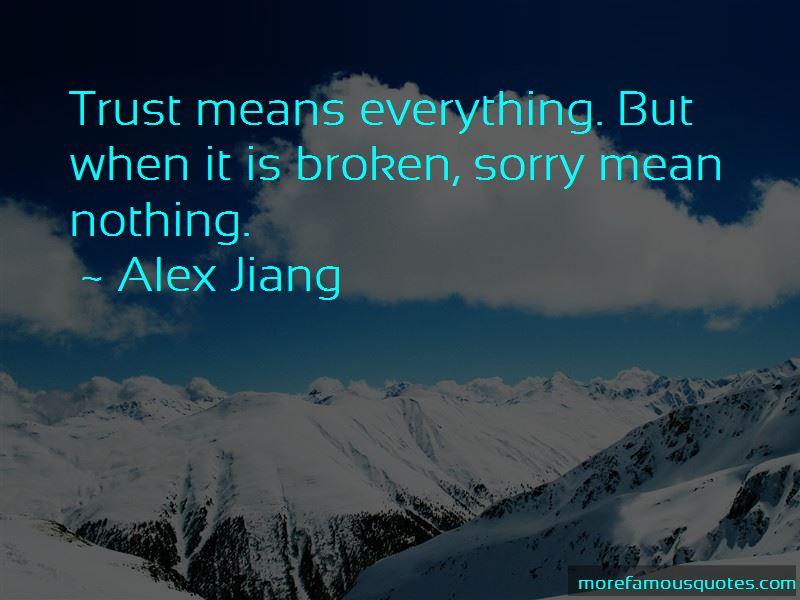 Alex Jiang Quotes