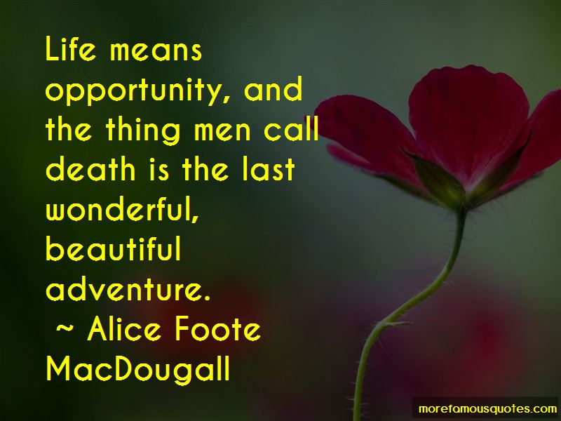 Alice Foote MacDougall Quotes Pictures 2