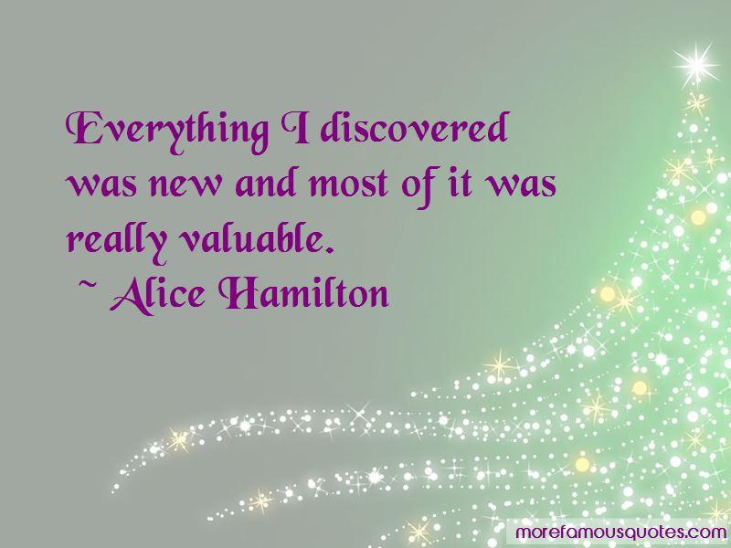 Alice Hamilton Quotes Pictures 2