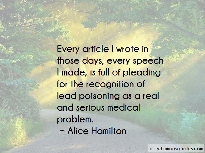 Alice Hamilton Quotes Pictures 3