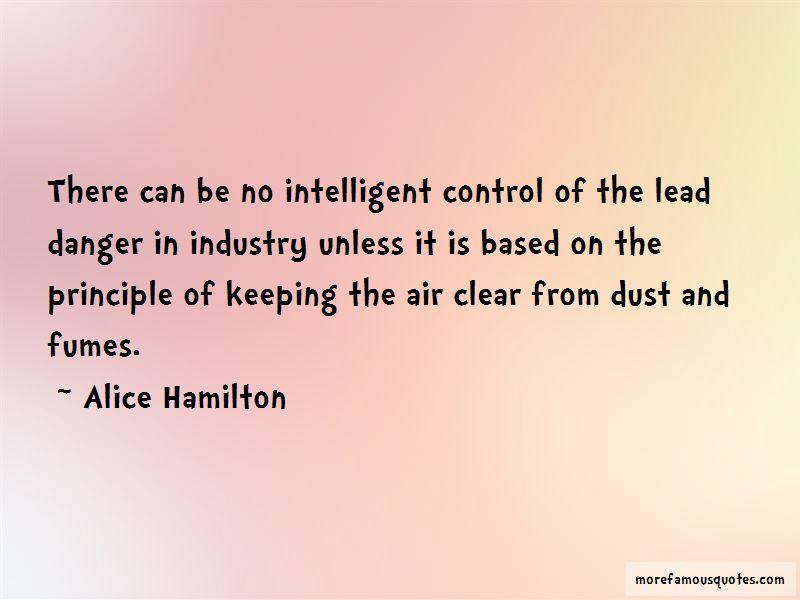Alice Hamilton Quotes Pictures 4