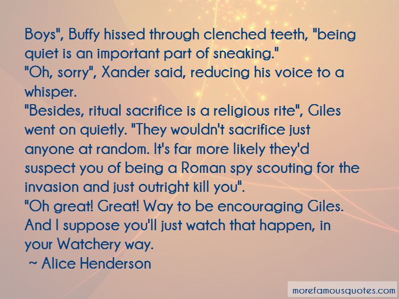 Alice Henderson Quotes Pictures 2