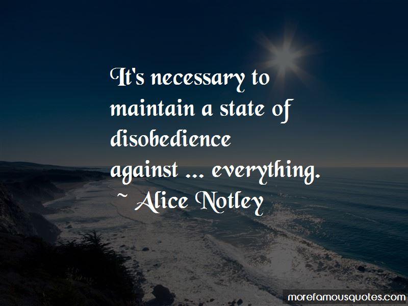 Alice Notley Quotes