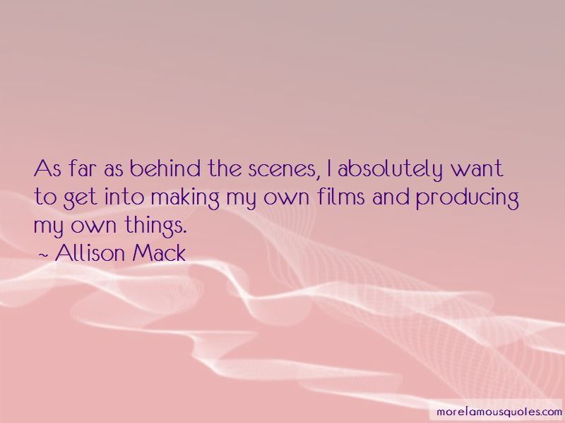 Allison Mack Quotes Pictures 3