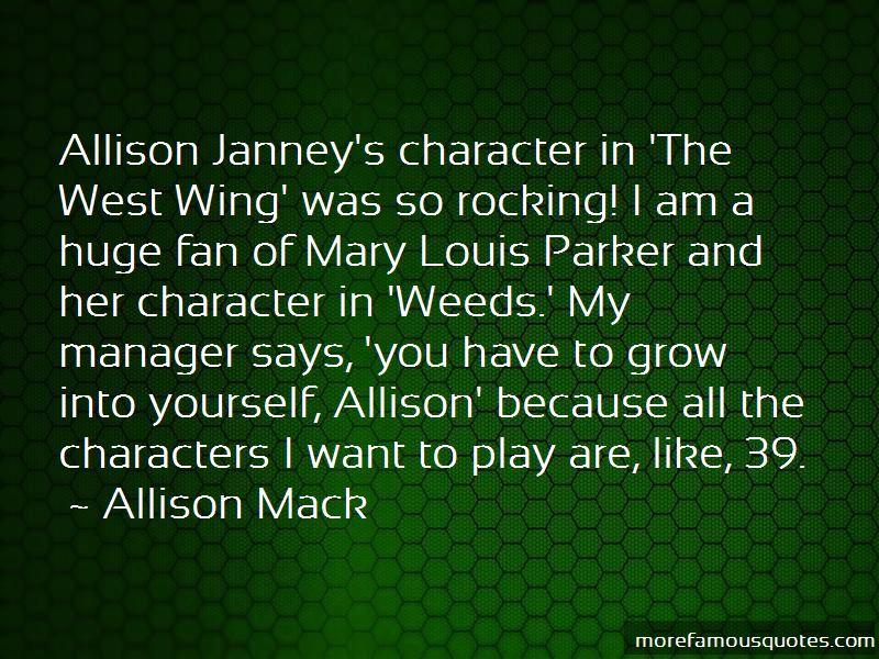 Allison Mack Quotes Pictures 4