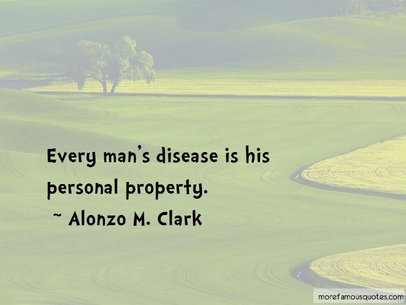 Alonzo M. Clark Quotes
