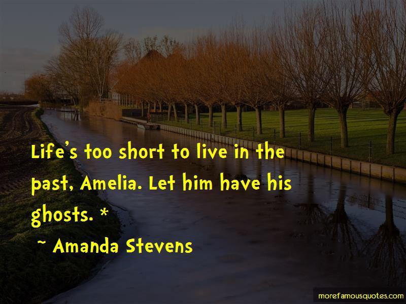 Amanda Stevens Quotes Pictures 2