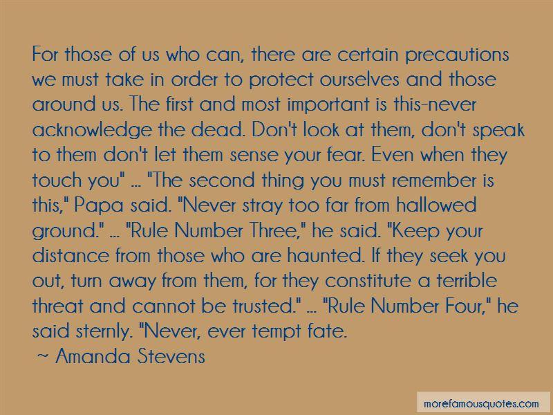 Amanda Stevens Quotes Pictures 3