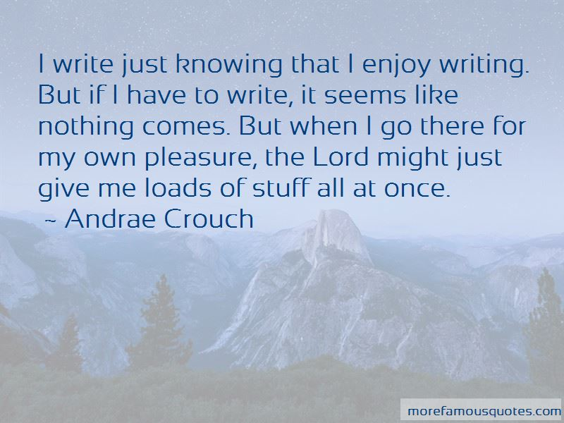 Andrae Crouch Quotes Pictures 4