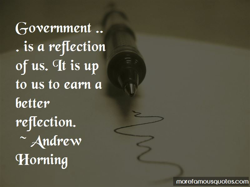 Andrew Horning Quotes