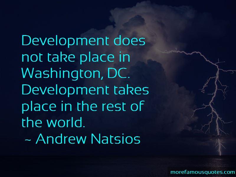 Andrew Natsios Quotes