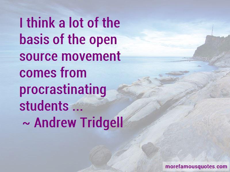 Andrew Tridgell Quotes