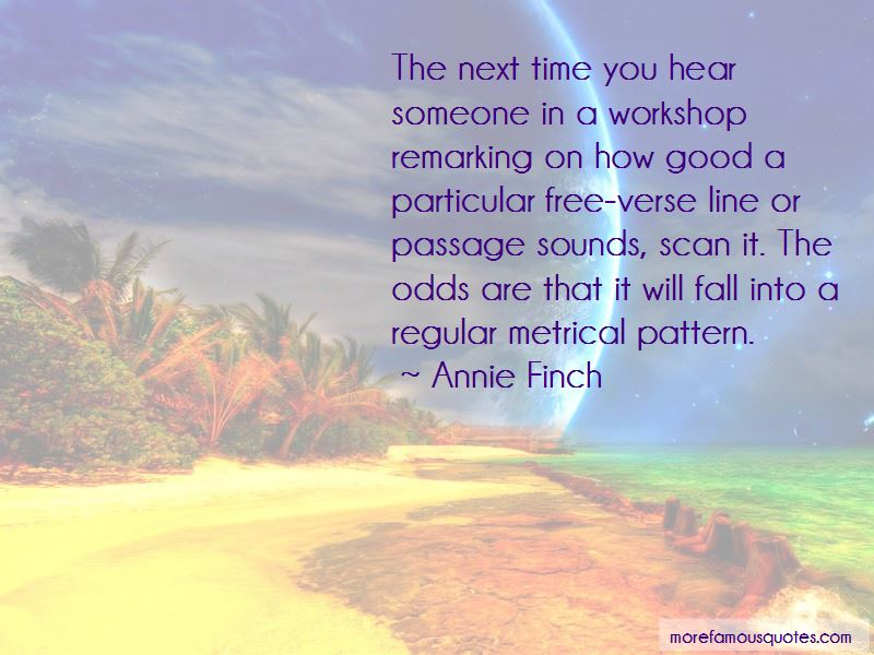 Annie Finch Quotes Pictures 2