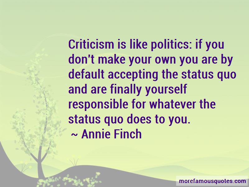 Annie Finch Quotes Pictures 3