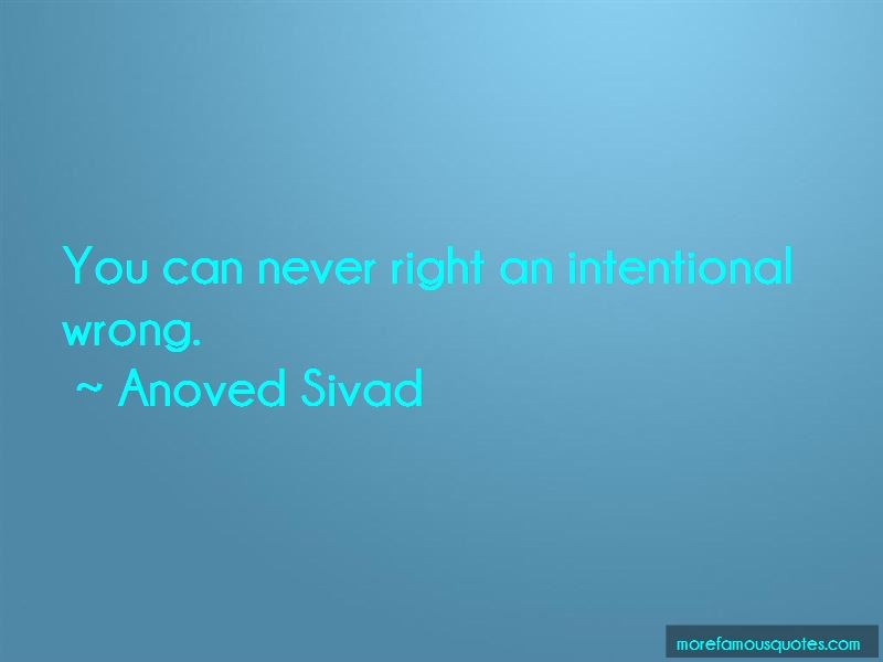 Anoved Sivad Quotes